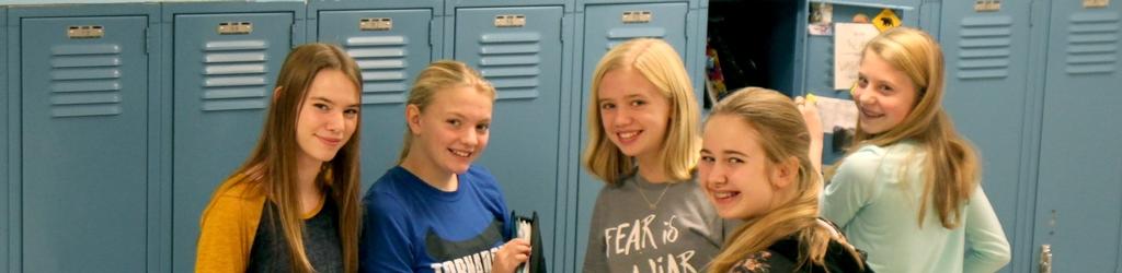 Girls by Lockers